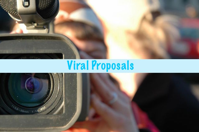 """Viral Proposals   3 of Our Favorite """"Aw"""" Moments   Occasions by M&K"""