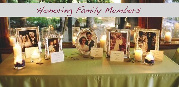 Honoring Family Members   How to Incorporate Family Who Can't Be There Into Your Wedding   Occasions by M&K