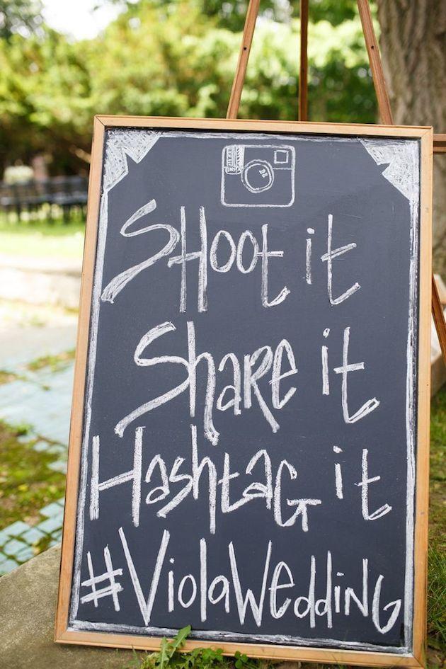 wedding hashtags one