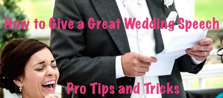 write a wedding speech
