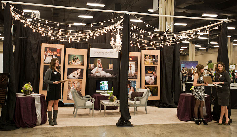 Bridal Expo Stands : And so the story goes utilizing storyboards at bridal shows